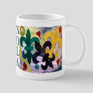 Mardi Gras Fleur de lis Mug