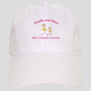 Amelia and Mom - Best Friends Cap