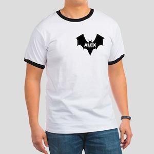 BLACK BAT ALEX Ringer T