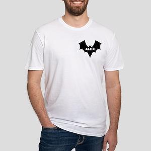 BLACK BAT ALEX Fitted T-Shirt