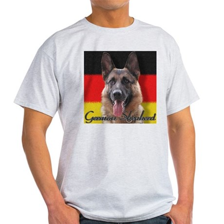 German Shepherd Ash Grey T-Shirt