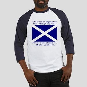 Scottish Blood & Whisky St. A Baseball Jersey