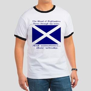 Scottish Blood & Whisky St. A Ringer T