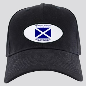 Scottish Blood & Whisky St. A Black Cap