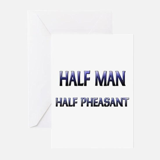 Half Man Half Pheasant Greeting Cards (Pk of 10)