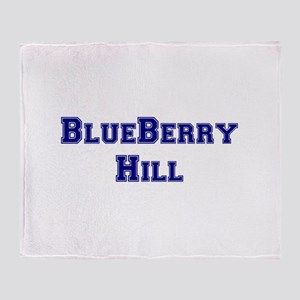 BLUEBERRY HILL Throw Blanket
