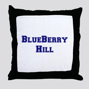 BLUEBERRY HILL Throw Pillow