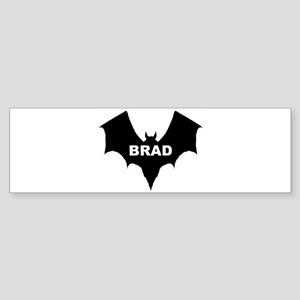 BLACK BAT BRAD Bumper Sticker
