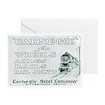 Carnegie Steel 1890 Greeting Cards (Pk of 20)