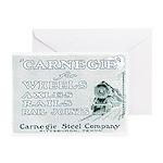 Carnegie Steel 1890 Greeting Cards (Pk of 10)