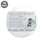 "Carnegie Steel 1890 3.5"" Button (10 pack)"