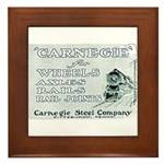 Carnegie Steel 1890 Framed Tile