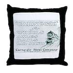 Carnegie Steel 1890 Throw Pillow