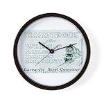 Carnegie Steel 1890 Wall Clock