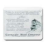 Carnegie Steel 1890 Mousepad