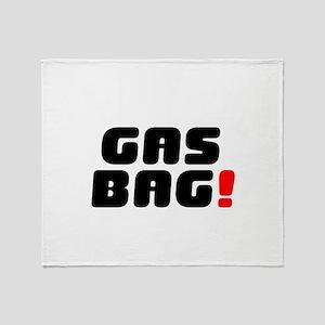 GASBAG! Throw Blanket