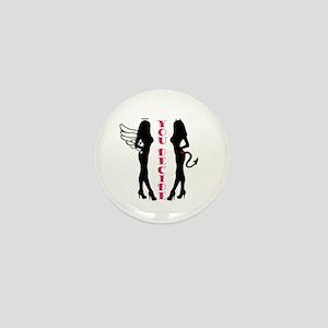 Angel or Devil Mini Button
