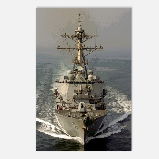 USS Churchill DDG-81 Postcards (Package of 8)