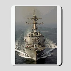 USS Churchill DDG-81 Mousepad