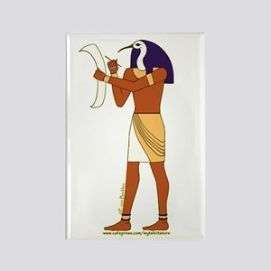 Egyptian God Thoth Rectangle Magnet