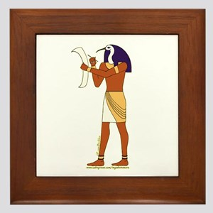 Egyptian God Thoth Framed Tile