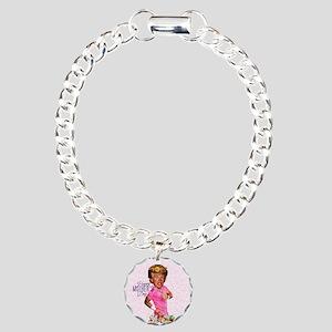 happy mothers day trump Charm Bracelet, One Charm
