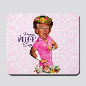 happy mothers day trump Mousepad