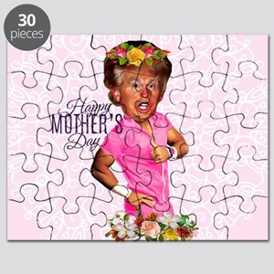 happy mothers day trump Puzzle