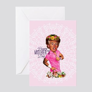 happy mothers day trump Greeting Cards