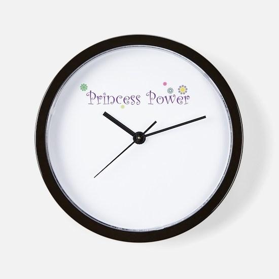 Princess Power Wall Clock