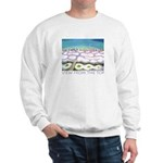 Beach View from the Top Sweatshirt