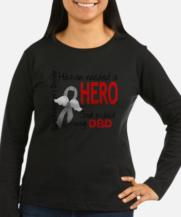 Parkinsons HeavenNeededHero1 Long Sleeve T-Shirt