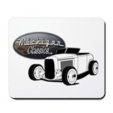 Detroit michigan Classic Mousepad