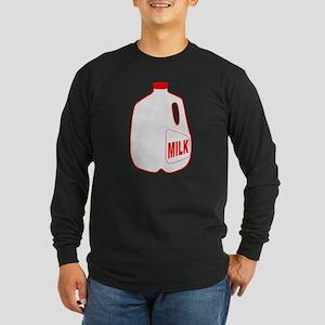 Milk Jug Long Sleeve Dark T-Shirt