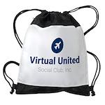 virtual united social club, inc. Drawstring Bag