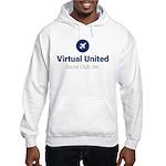 virtual united social club, inc. Hooded Sweatshirt