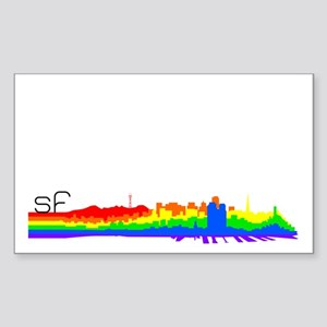 SF Pride Rectangle Sticker