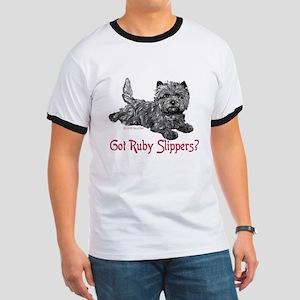 Cairn Terrier Ruby Slippers Ringer T