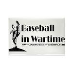 Baseball in Wartime Rectangle Magnet