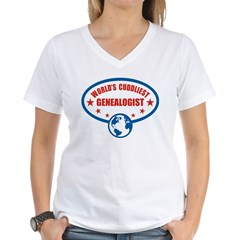 Worlds Cuddliest Genealogist Shirt