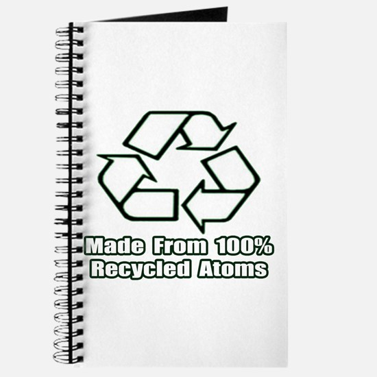 """""""Made From Recycled Atoms"""" Journal"""