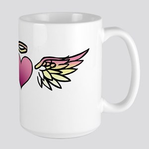 Heart Tattoo Large Mug