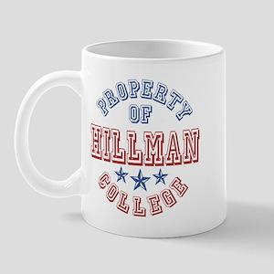 Hillman College Property Of Mug