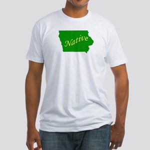 Iowa Native Fitted T-Shirt