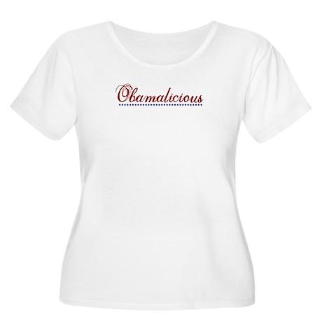 Obamalicious (Obama Mama) Women's Plus Size Scoop