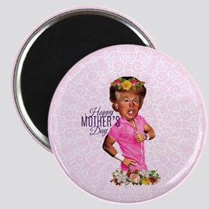 happy mothers day trump Magnets