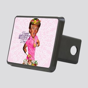 happy mothers day trump Rectangular Hitch Cover