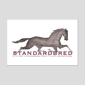 Standardbred Horse Mini Poster Print