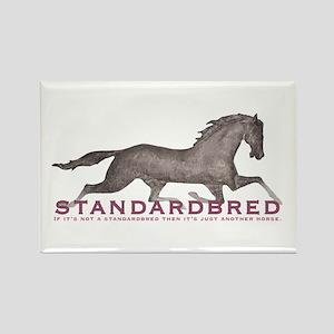 Standardbred Horse Rectangle Magnet