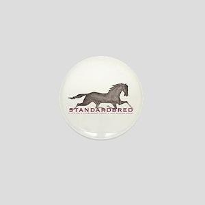 Standardbred Horse Mini Button